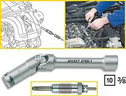 Ключ HAZET для свечей накаливания 12 мм