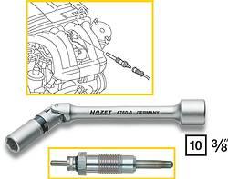 Ключ HAZET для свечей накаливания 9 мм